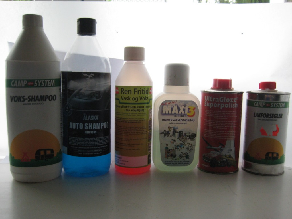 Test of the wash and care products