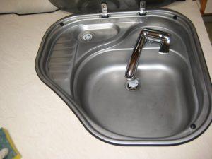 Køkkenhåndvask færdig resultat
