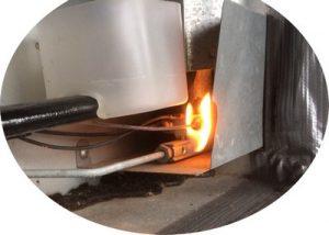 Gasdyse og gasbrænder til køleskabe