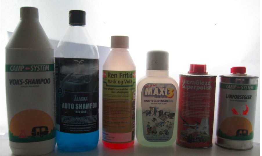 Test washing products