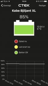 CTEK CTX Battery Sense batterivagt
