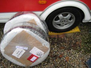 """Nye 15"""" dæk- og alufælge"""