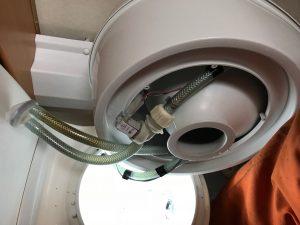 Magnetventil toilet i Campingvogn