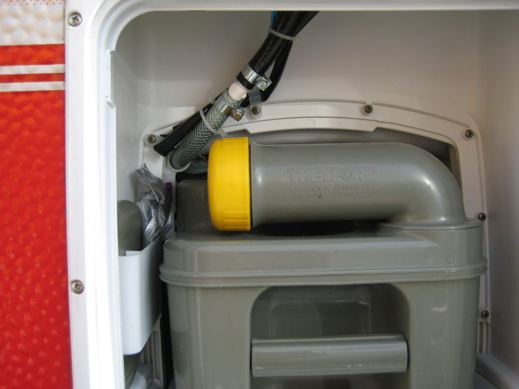 Magnetventil i husvagnen