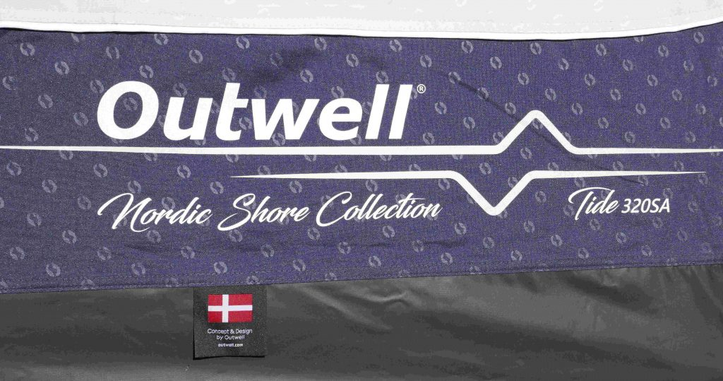 Outwell Air Awning Tide 320 SADDLE