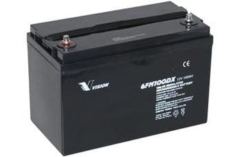 AGM batteri 100 amp