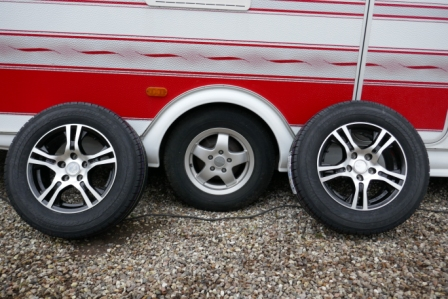 alloy wheels for caravan