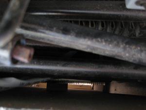 Bilde tatt ned fra risten, og du ser tagudluftning
