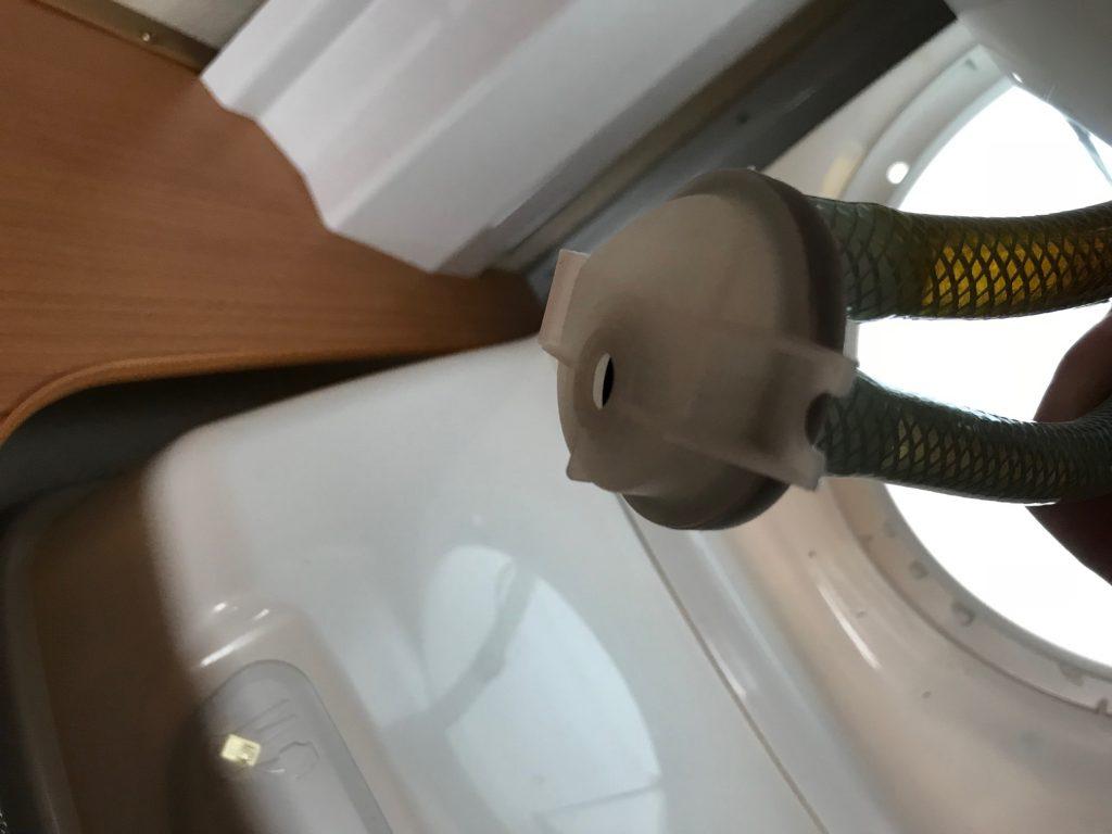 Magnetventil i toilet i Campingvogn