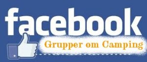 Facebook hópar um Camping