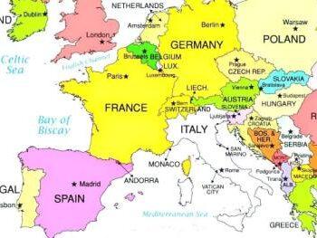 Bilferie i Europa