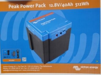 Victron Peak Power Pack 40Ah Lithium batteri til Campingvogn & Mover