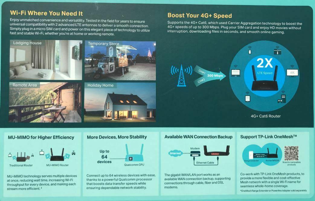 TP-Link MR600 Router