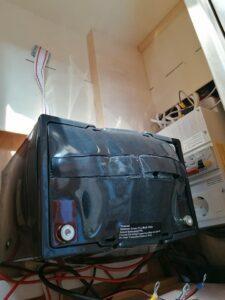 Bulet batteri i campingvogn